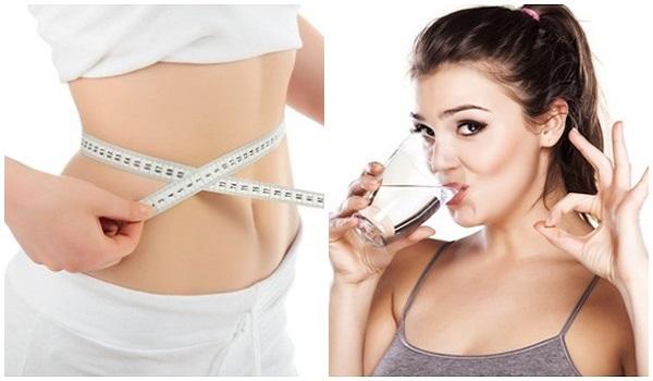 Cách giảm cân bằng nước uống