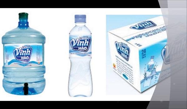 Giá nước khoáng Vĩnh Hảo