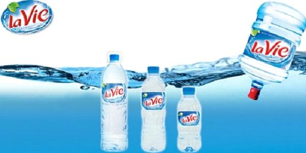 Nước khoáng Lavie giá bao nhiêu tiền?