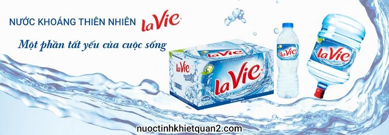 Nước khoáng Lavie quận 9