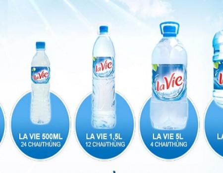 Chuyên phân phối nước khoáng Lavie tại TPHCM