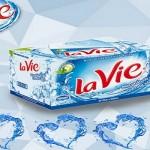 Thùng nước Lavie 350ml giá bao nhiêu?