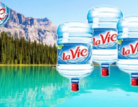 Bình nước Lavie 19L, 20L có vòi giá bao nhiêu tiền?