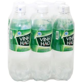 Thùng nước Vĩnh Hảo có ga 500ml