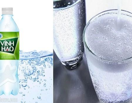Sử dụng nước Vĩnh Hảo có ga thế nào là đúng cách?